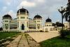 Medan/Sumatra - Masjid Raya - Die Große Moschee