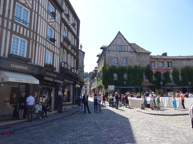 Honfleur, just outside the cathedral