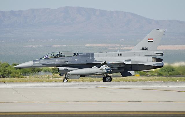 Iraqi Air Force Lockheed Martin F-16D Fighting Falcon 1601 (12-0016)