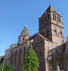 Strasburgo, Luterana Preĝejo Sankta Tomaso.