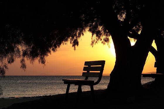 Lazy sunset