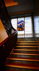 Treppenhaus der Stadtbäckerei (Kontorhaus N° 15)