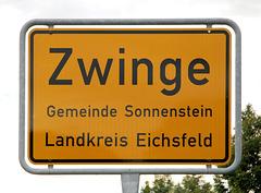 Kleine Gemeinde in Thüringen