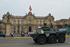Peru, Lima, The Main Square, Policia Nacional