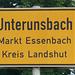 Ort bei Landshut in Bayern