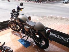 Stallions cafe mega motorbike in Thailand