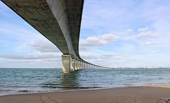 Pont reliant l'Ile de Ré au continent (17) 25 septembre 2015.