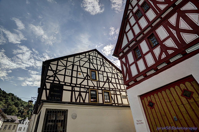 Altes Wirtshaus an der Lahn - Dausenau