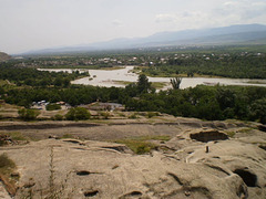 Overview to River Kura.