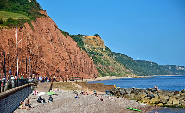 The Jurassic Coast - Sidmouth