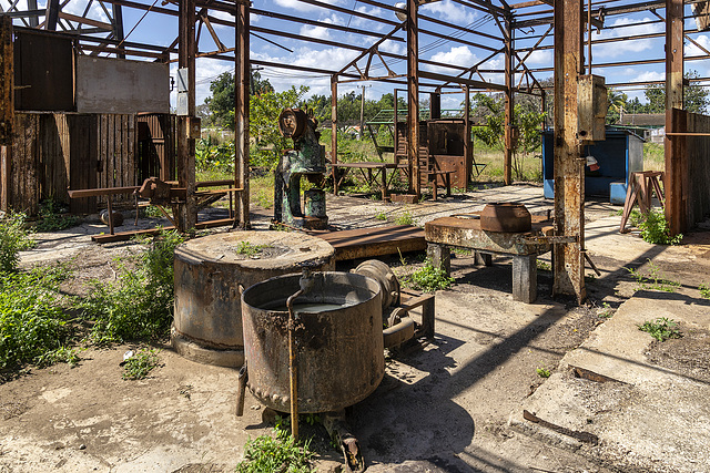 sugar mill's workshop