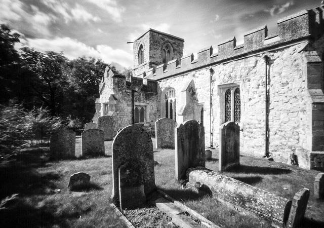 St Mary Magdalene, Caldecote (pinhole)