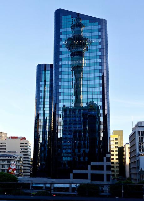 Aukland  Sky tower