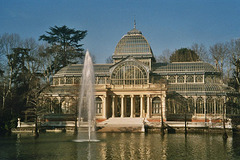 ES - Madrid - Crystal Palace at Parque del Retiro