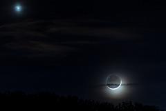 Mond und Venus - 20150220