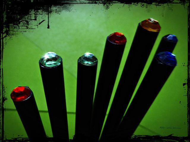 ... 7 Stifte ... (Stifte - Bleistifte ~ 4/50)