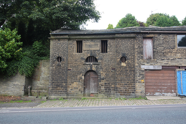 Former Lock up, Illingworth, West Yorkshire
