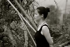 KEYU : Concentration matinale. Baimashan  . Chine