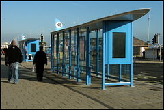 ugly Weymouth bus shelters