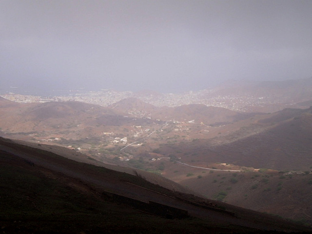 Overview to Mindelo.