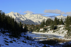 Winchester Mountain and Mount Larrabee