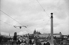 Prazky Hrad from Manesuv Most, Edited version, Prague, CZ, 2015