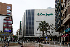 "Valencia - vor dem ""El Corte Inglés"" (© Buelipix)"