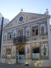 Building of parish office.