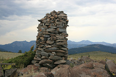 The Great Cairn of the Carson-Iceberg Wilderness