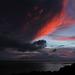 At sunset in Darwin