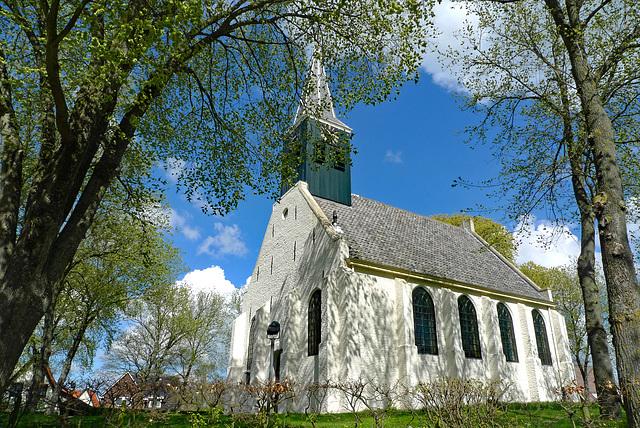 Nederland - Groet, Witte Kerkje