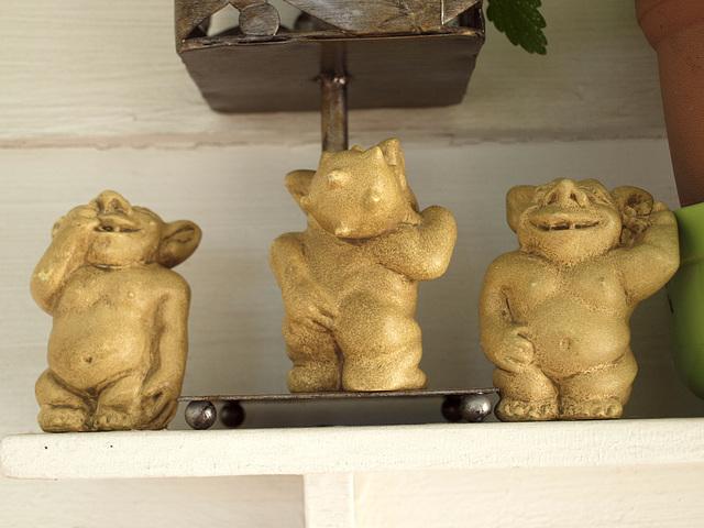 trio of trolls