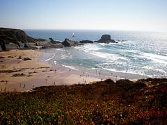 Zambujeira do Mar -  Daytime low sea