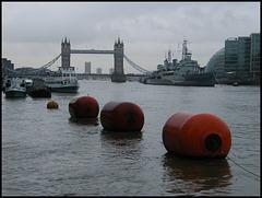 Thames at Tower Bridge