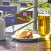 Brötchen Bratwurst Bier - bulko kolbaso biero
