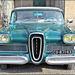 Crémieu (38) 14 janvier 2018. Ford Edsel (fin des années 50).