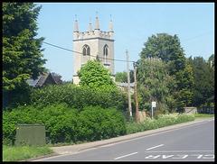 Benson church tower