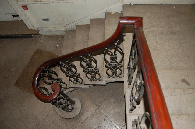 Staircase Hall, The Mansion, Church Street, Ashbourne, Derbyshire