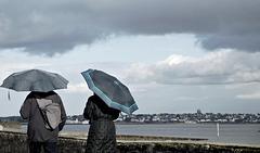 parapluie de rigueur,