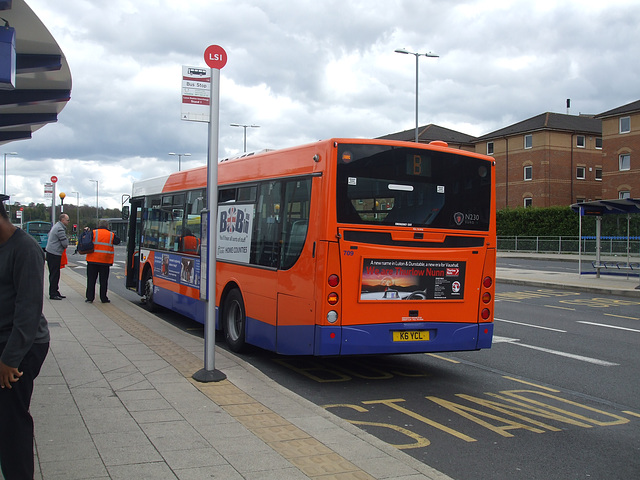 DSCF9082 Centrebus K6 YCL (YN06 TGE) - 30 April 2015