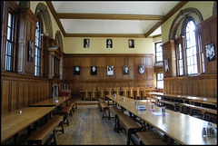 Hertford College dining hall