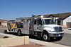 unisource services ih 4400 utility truck & trailer kingman az 08'18
