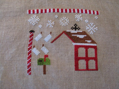 Santa's Village by Country Cottage Needleworks