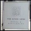 boring Kings Arms pub sign