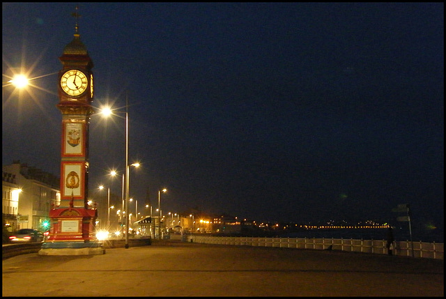 five o'clock in Weymouth