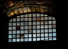 Das Leuchten des Fensters in der Aya Sofya