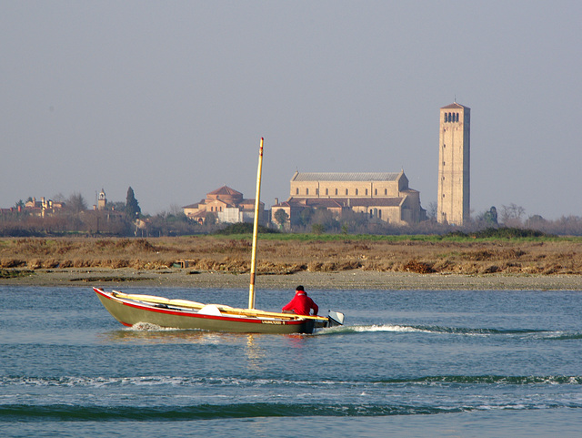Looking back at Torcello