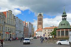 beim Marktplatz Wismar (© Buelipix)