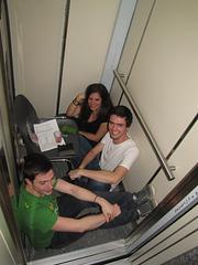 IMG 0710 SKEJ-estraro en la lifto