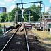 Bridge closed for trains